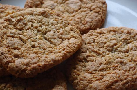 Oaty Coconuty Cookies