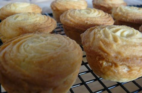 Viennese Biscuit Topped Mince Pies