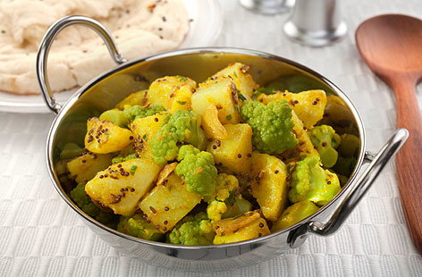Aloo Gobi (Cauliflower and Potato)