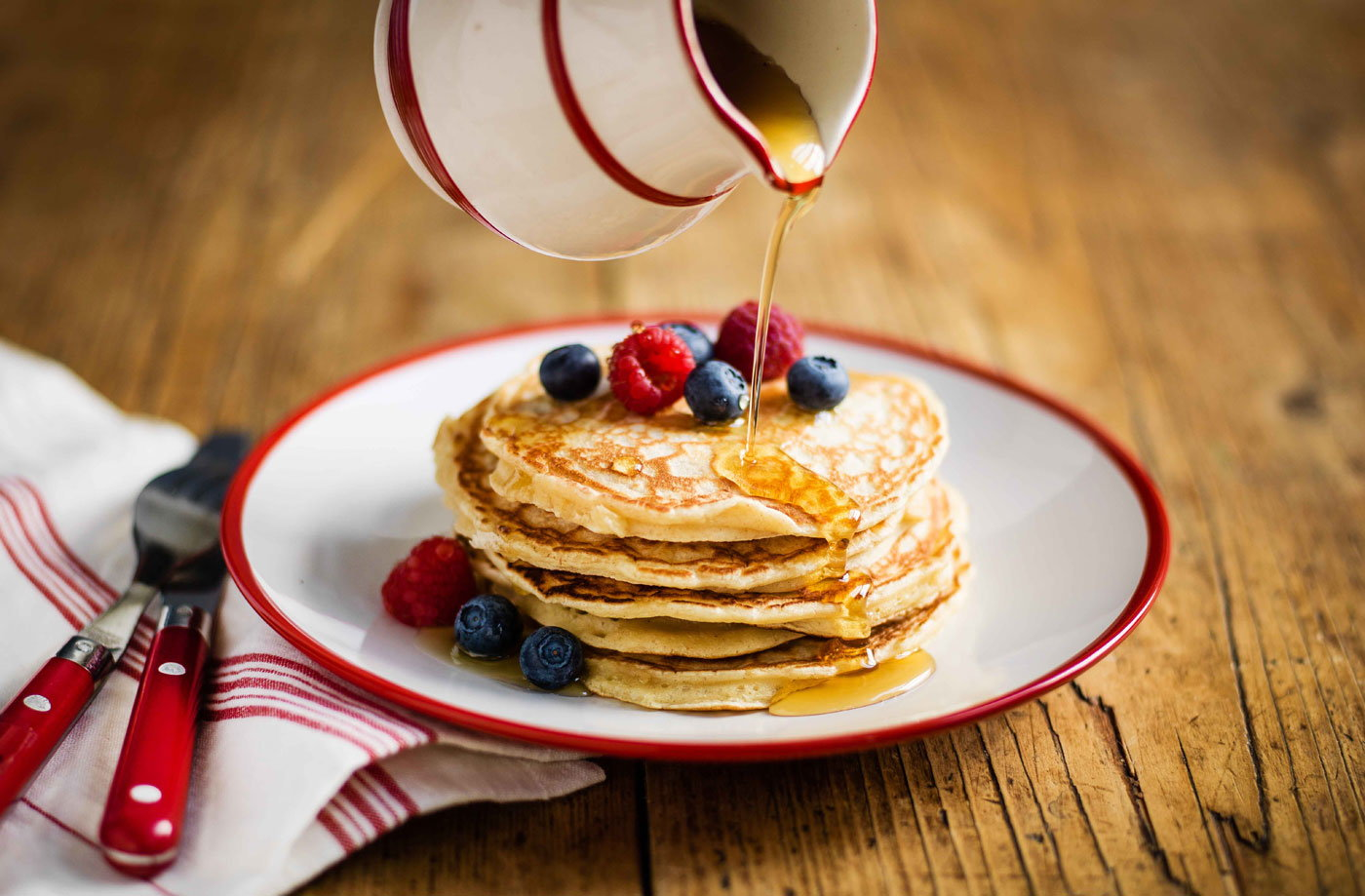 American pancakes tesco real food ccuart Images