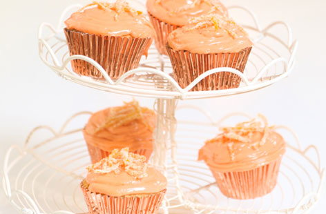 Arabian orange cupcakes (h)