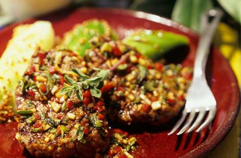 sirloin with chimichurri sauce tesco real food