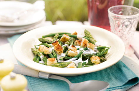Asparagus and green beans T