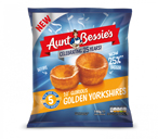 Aunt Bessie's 10 Glorious Golden YorkshiresHearty, golden and wholesome, and just the right amount of crispiness.