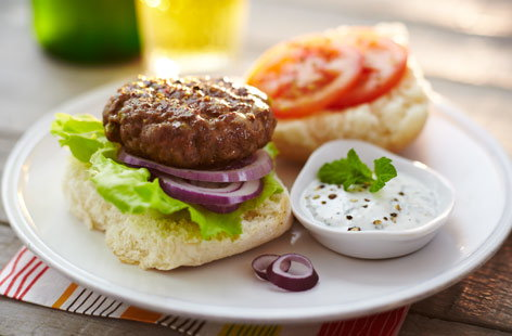 BBQ indianlambburgers Th