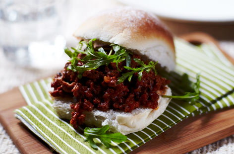 BEEF sloppyJoes He