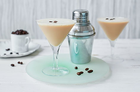We've given the classic espresso martini a luscious twist by adding Irish cream - a cocktail recipe that's perfect for enjoying with friends.