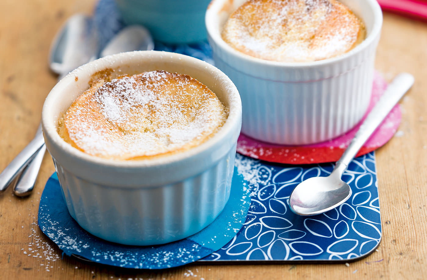 Baked lemon puddings recipe