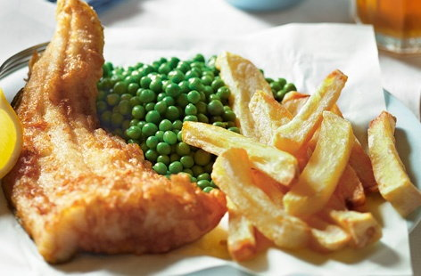 Beer-battered fish and chips | Tesco Real Food