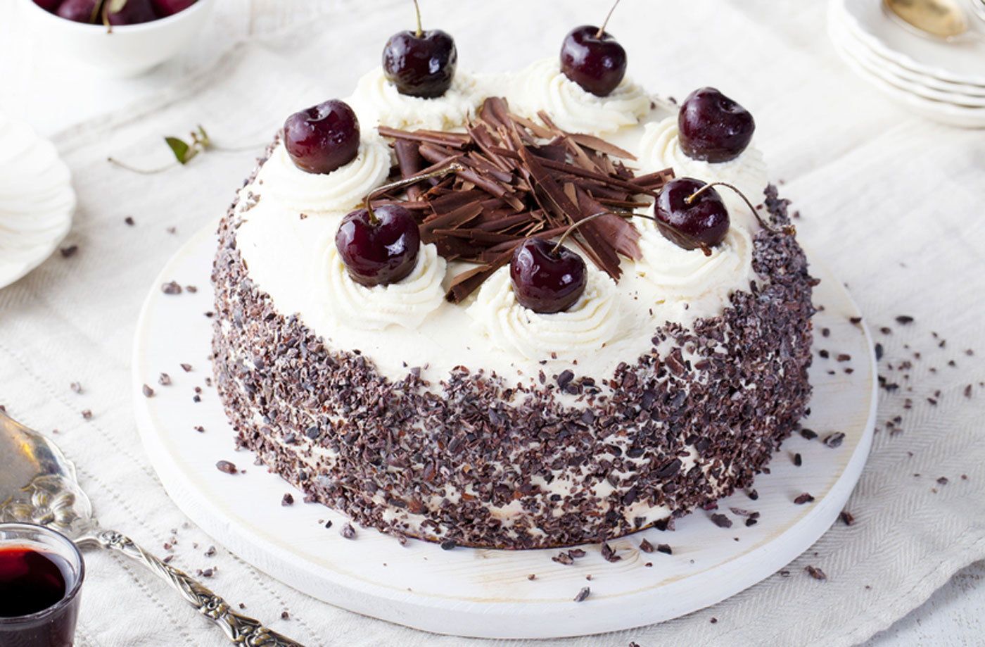 Black Forest Gateau T