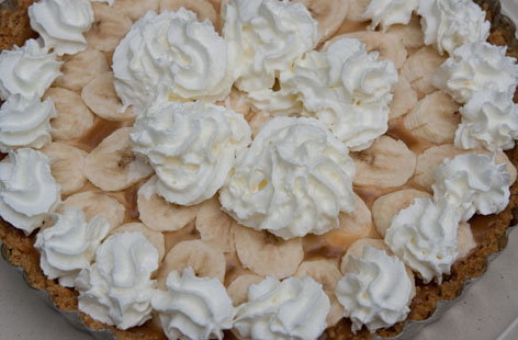 Bonkers Banoffee Pie hero