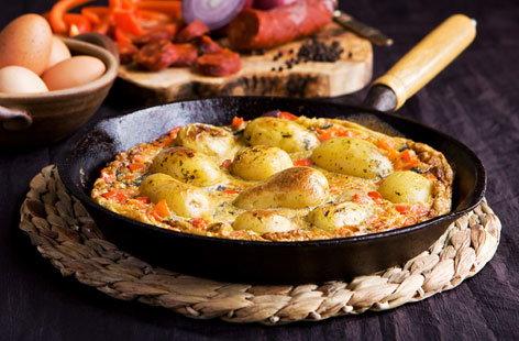 Super speedy Spanish omelette Tesco Real Food