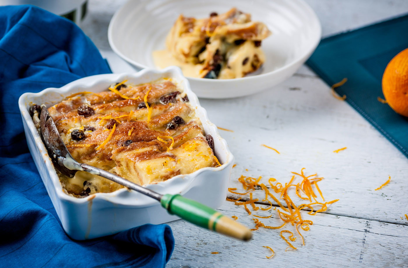 Geoffrey Smeddle's brioche and butter pudding recipe