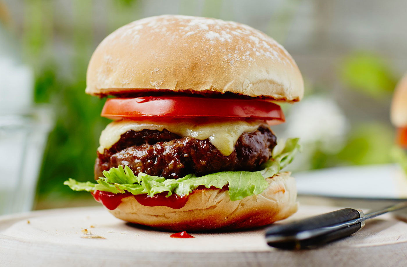 Homemade Burgers Recipe