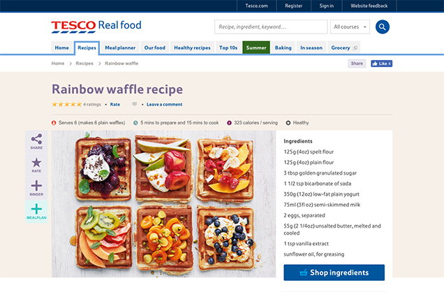 Click to buy tesco real food browse tesco real food and choose a recipe you would like to make forumfinder Image collections