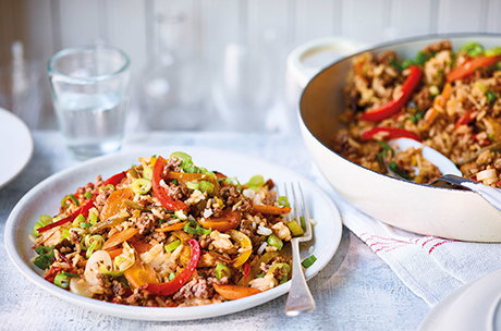 5 easy family dinners for £25: Week 8