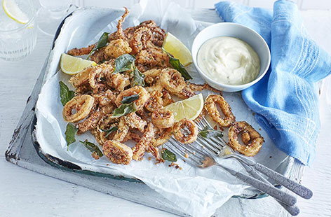 How to make calamari