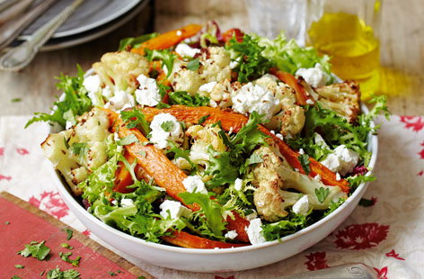 Carrot & feta salad(t)