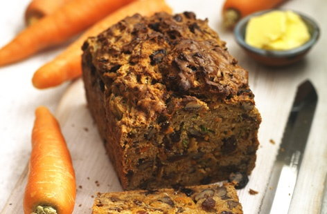 Carrot and courgette loaf   THUMB