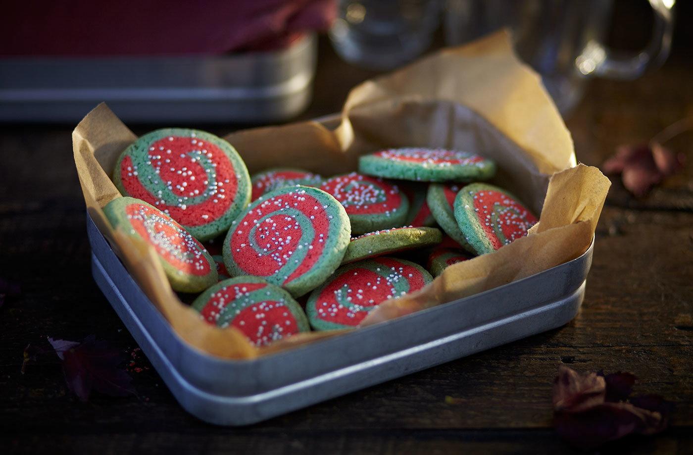 catherine wheel cookies tesco real food