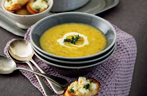 Cauliflower and cumin soup
