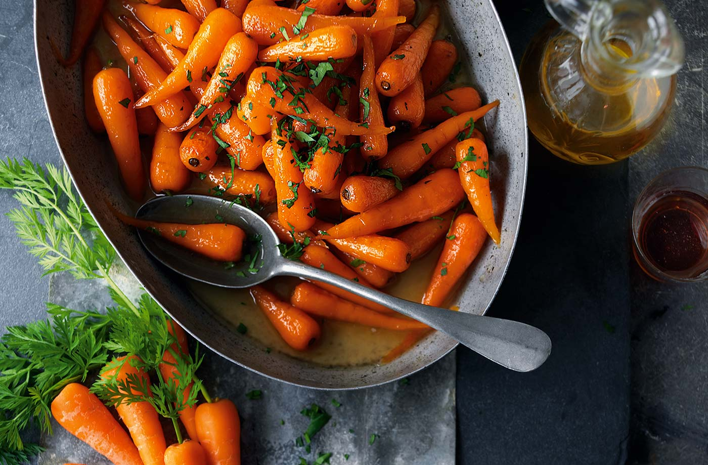 Sweet Roasted Chantenay Carrots Tesco Real Food