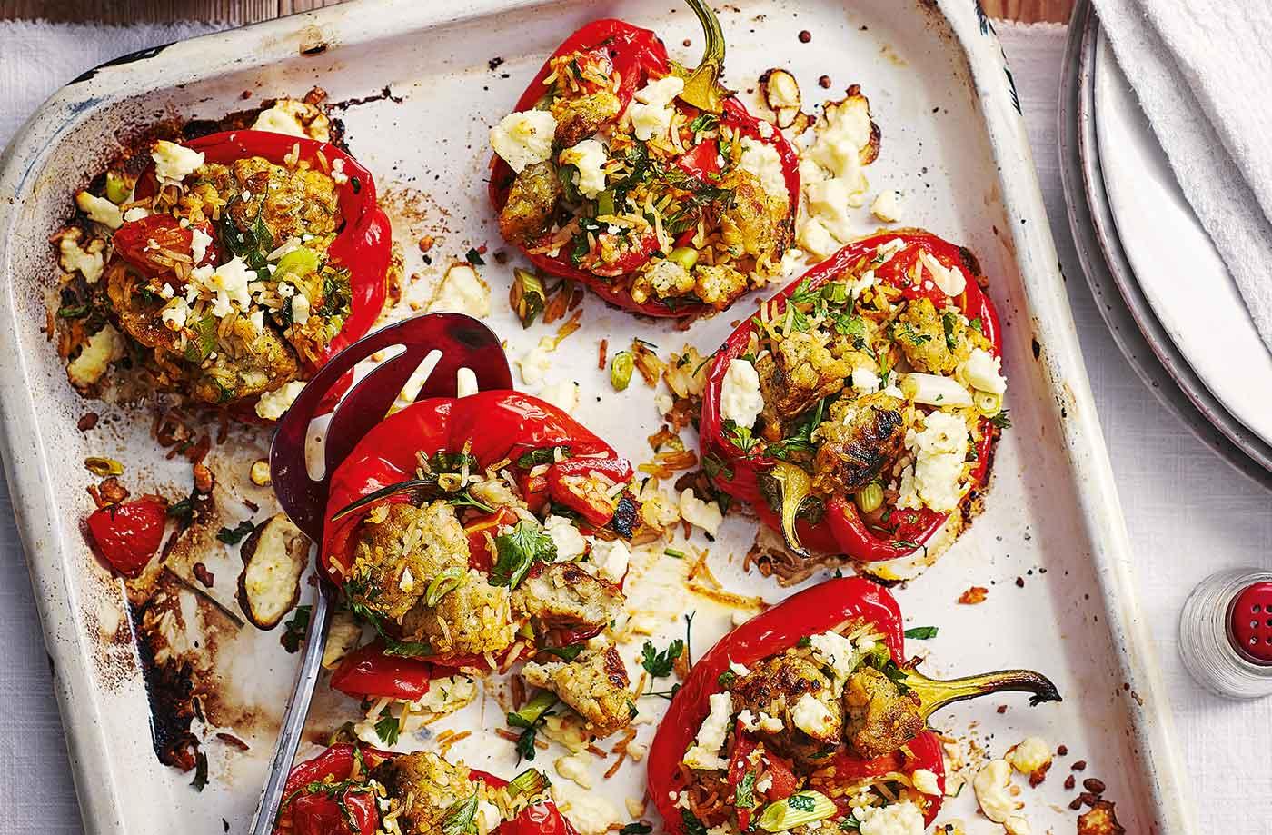 Cheesy Stuffed Peppers