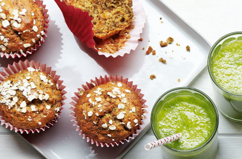 Chia seed muffin (H)