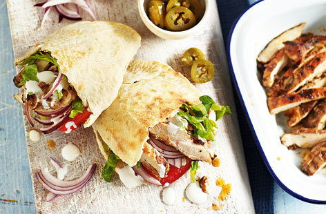 Chicken shwarma (H)