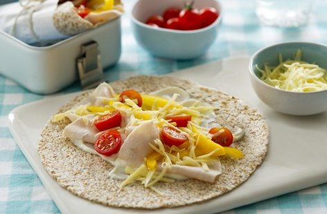 Chicken wraps (h)
