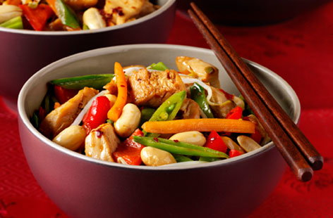 Chilli Chicken Stir Fry (h)