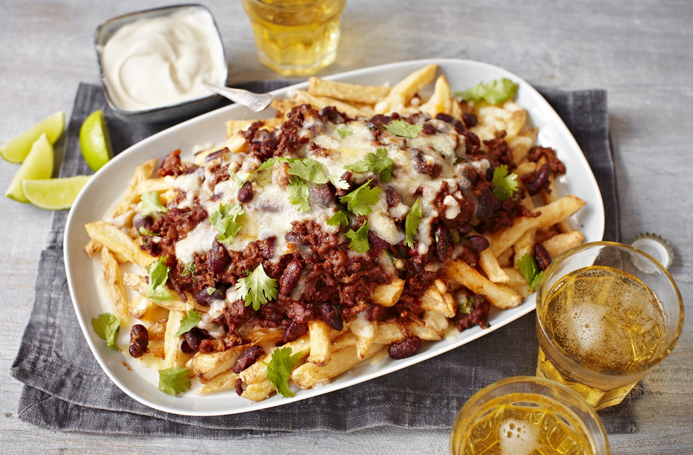 Chilli Cheese Fries