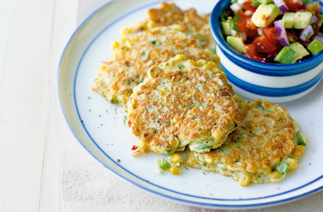 Chilli corn cakes HERO
