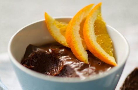 Dark chocolate orange mousse | Tesco Real Food