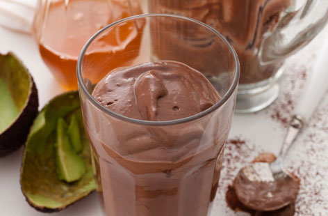 Chocolate and avocado smoothie HERO