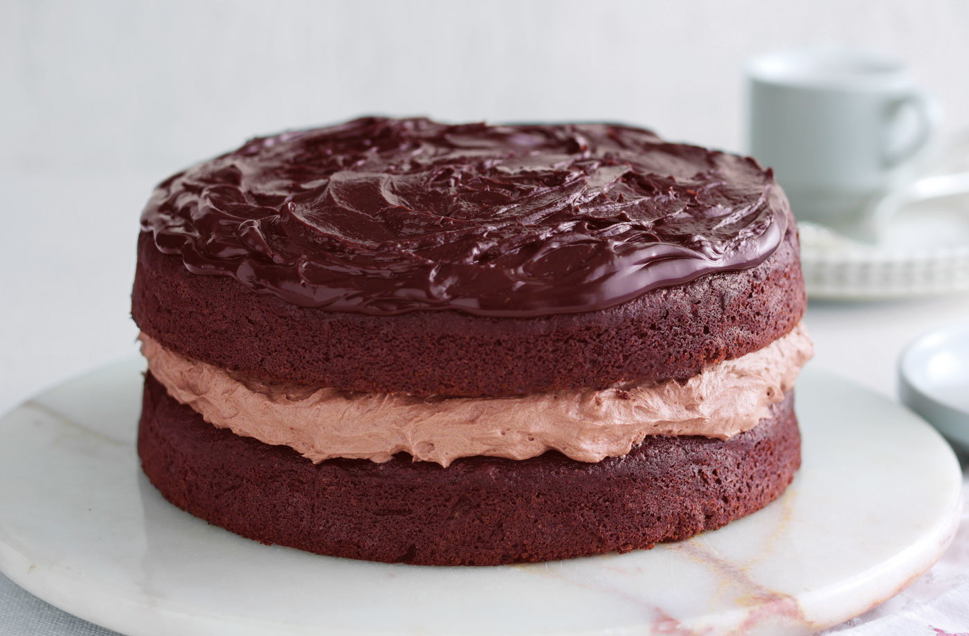 Beetroot And Chocolate Cake Gluten Free