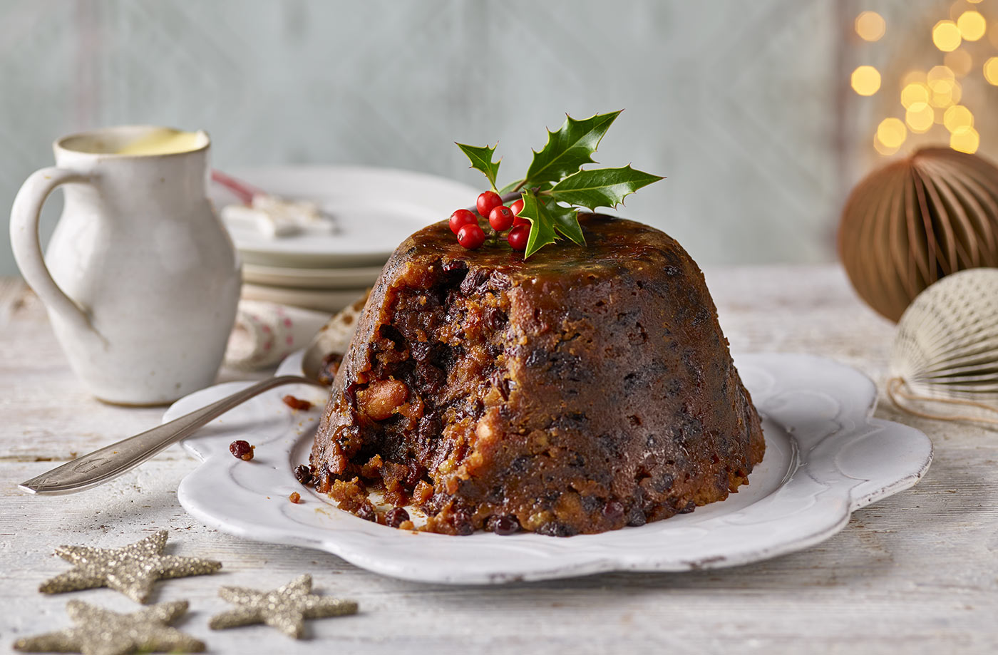 Christmas Pudding Recipe.Christmas Pudding