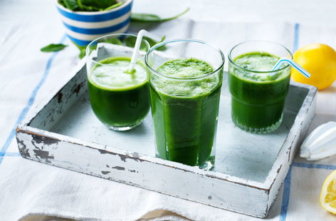 It's oh so easy being green with this vibrant juice that's packed full of fresh, nourishing ingredients