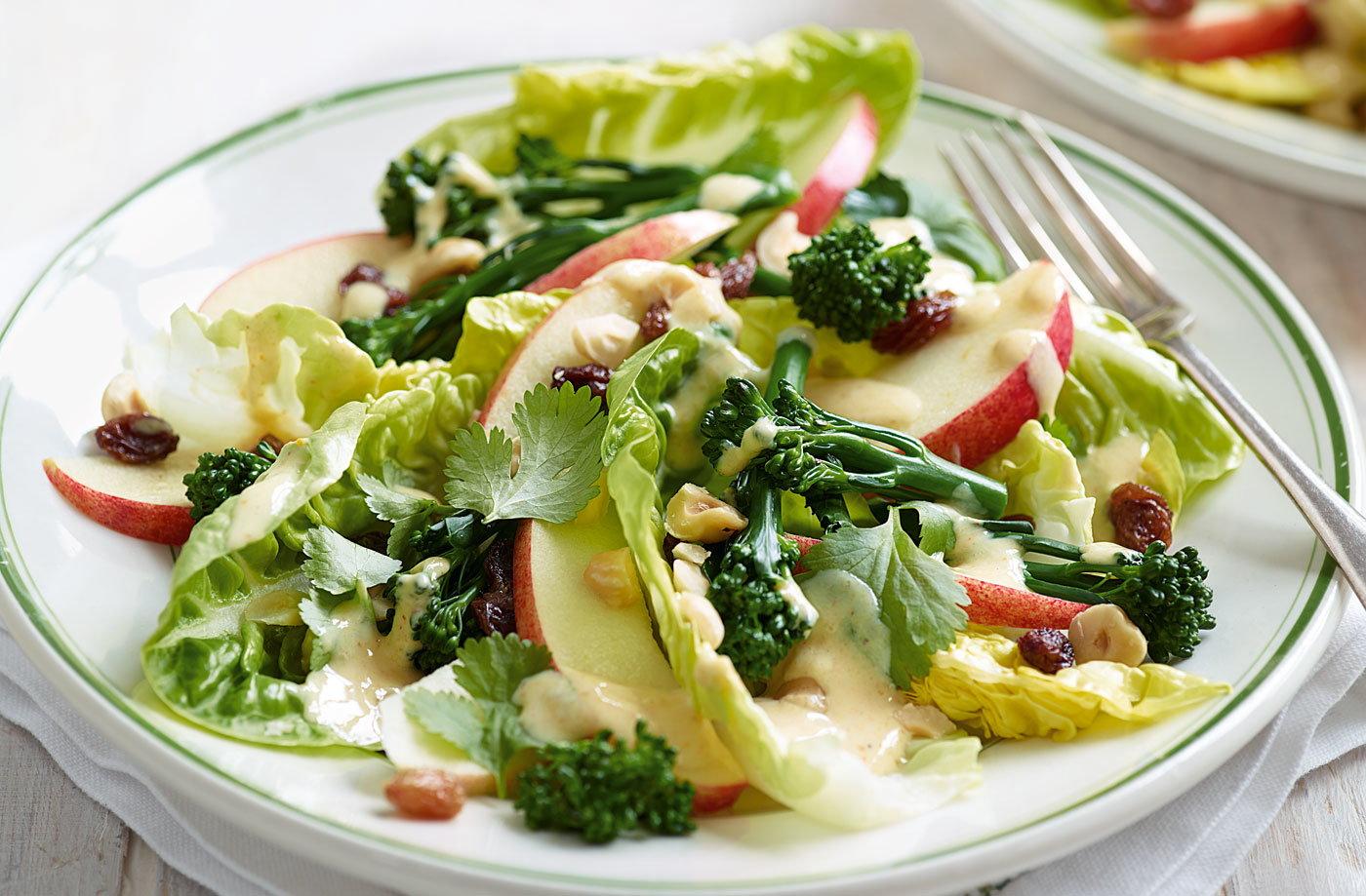 apple sultana and broccoli salad tesco real food