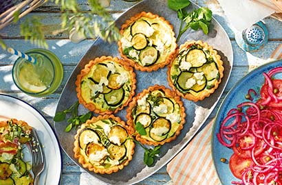 With their gorgeous creamy fillings and buttery crusts, it's no wonder quiches are such an essential part of most summer spreads