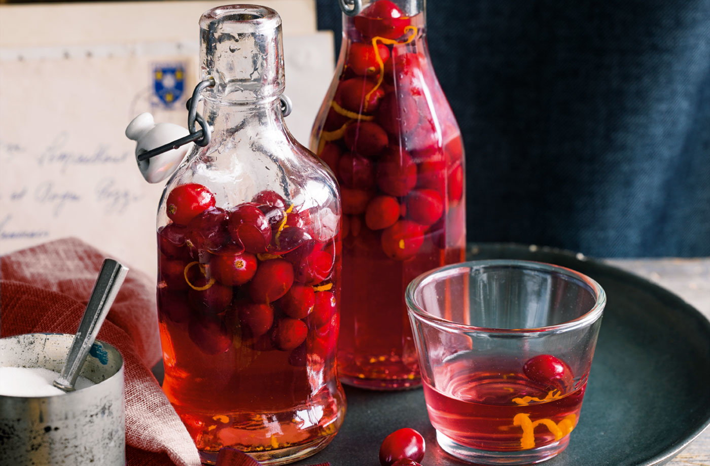 Cranberry gin recipe
