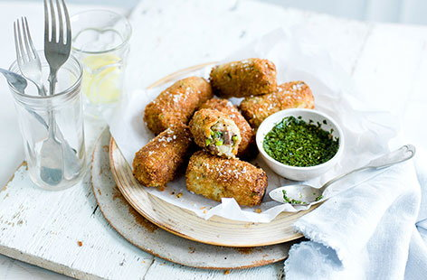 How to make lamb croquettes