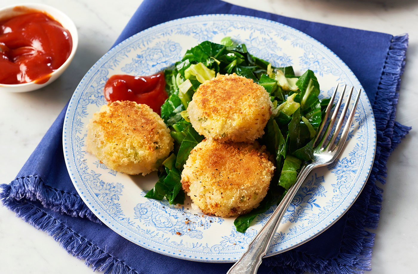 Fishcakes tesco real food for Baked fish cakes