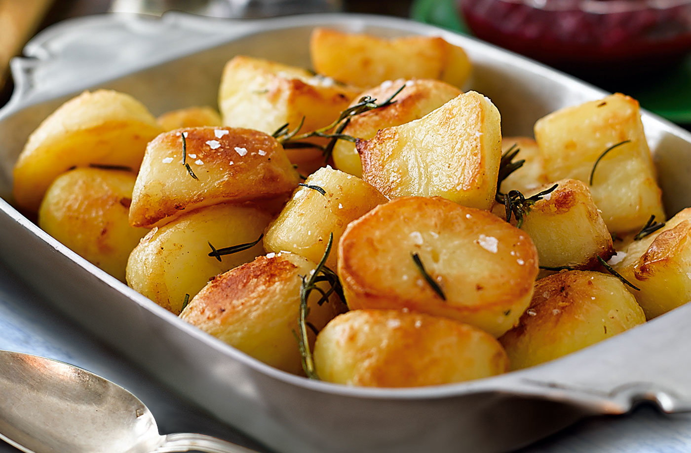 Duck fat roasties with rosemary