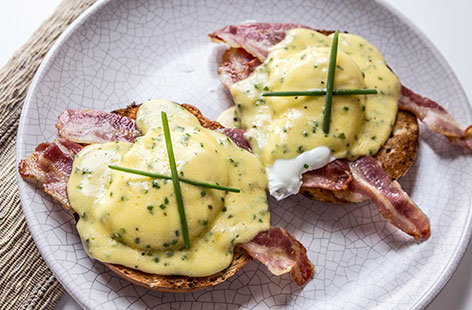 Eggs benedict sorted HERO