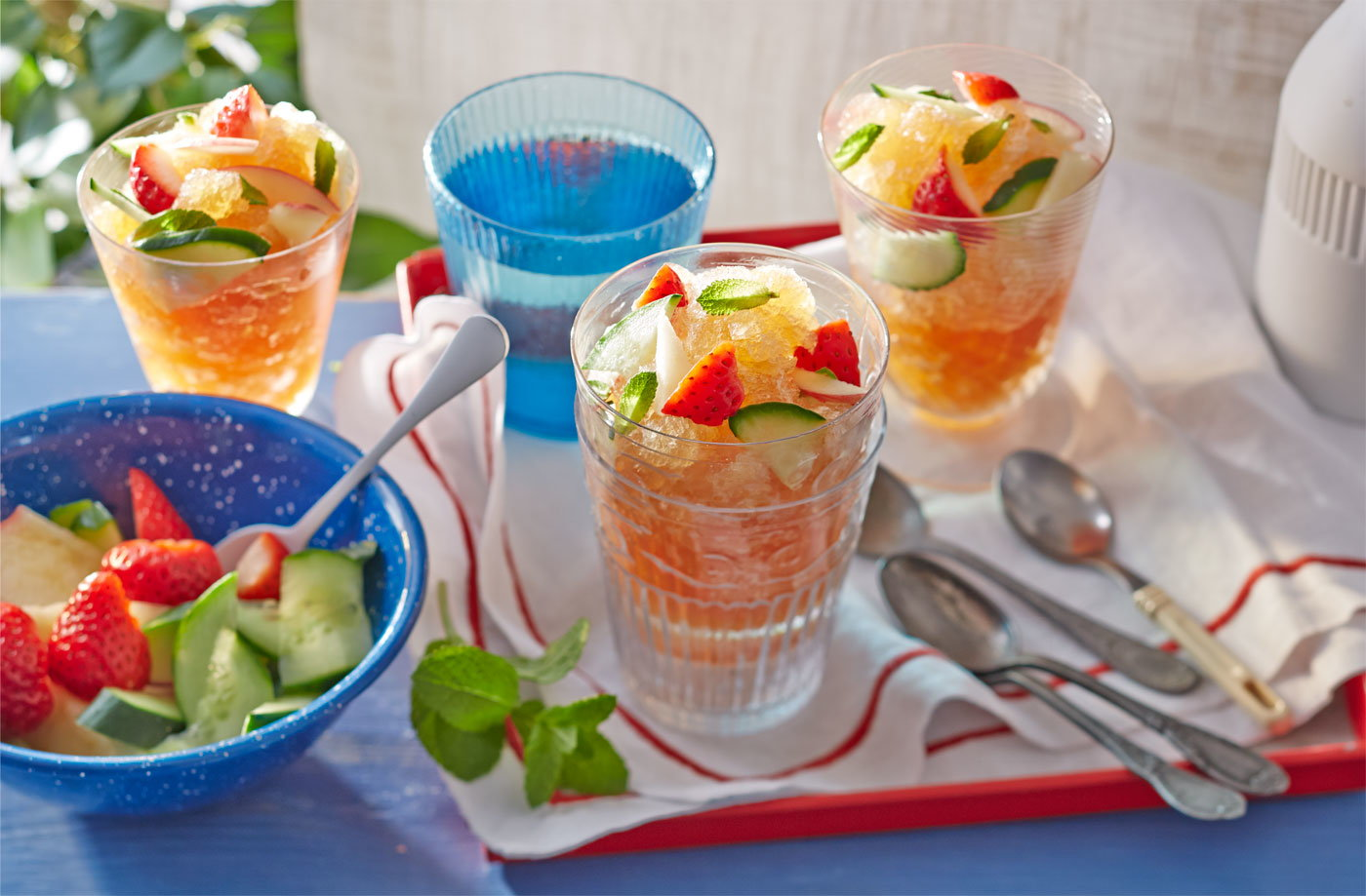 Frozen Pimm's recipe