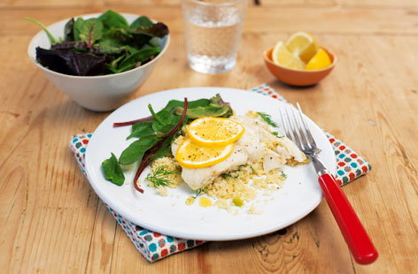Fish Couscous Parcels(h)