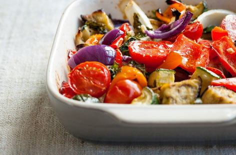 Galton Blackiston's rustic ratatouille
