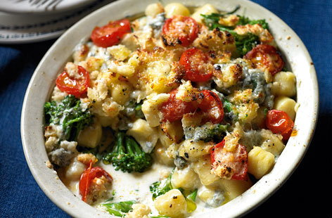 GNOCCHI WITH BROCCOLI GORGONZOLA AND TOMATOES THUMB