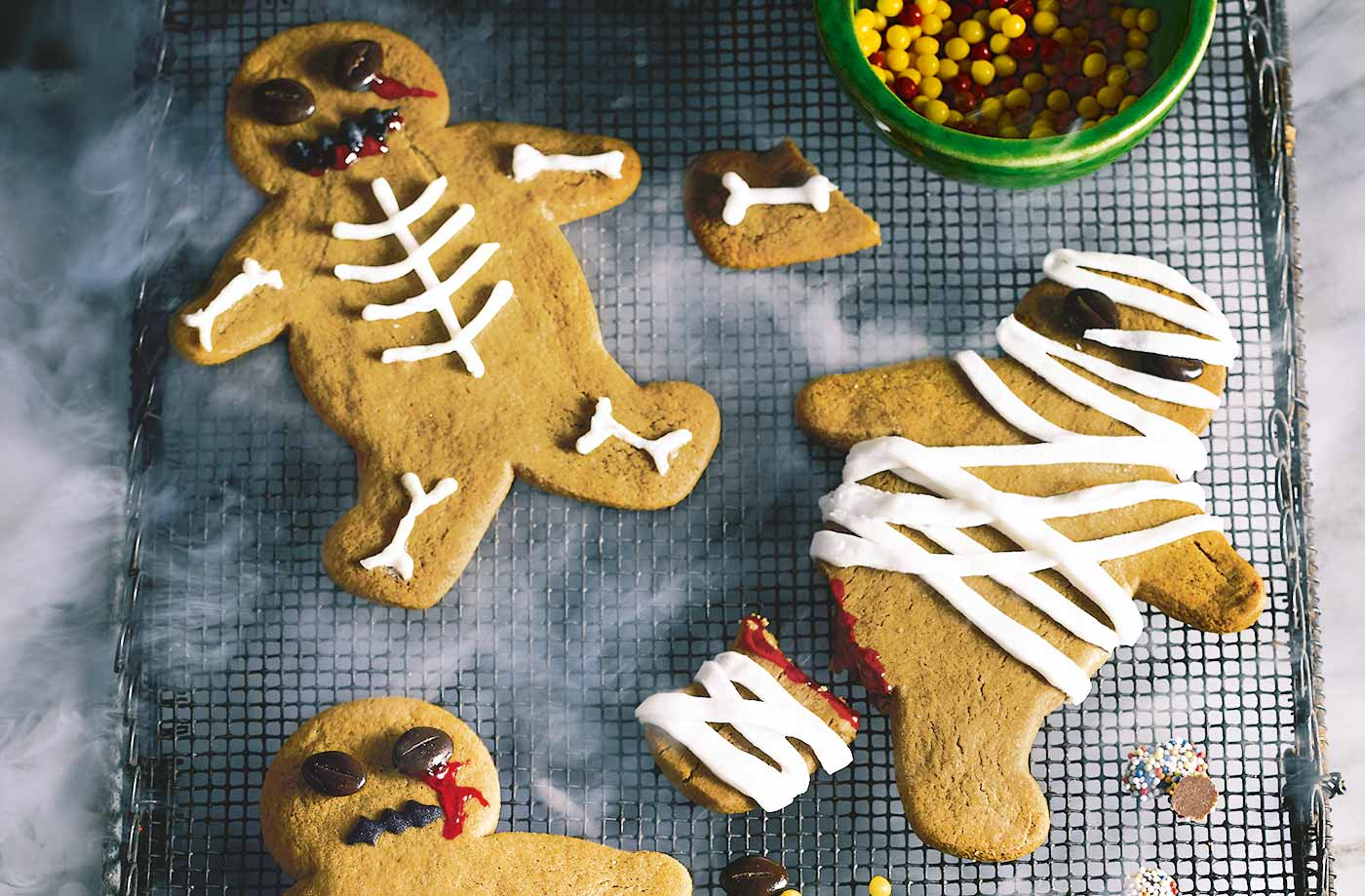 Gingerbread zombies recipe